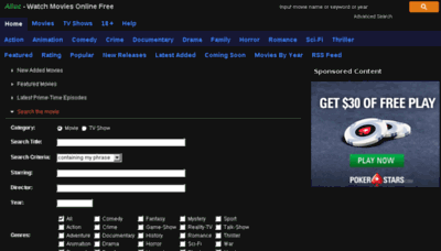 What Alluc.123movies.online website looked like in 2018 (3 years ago)