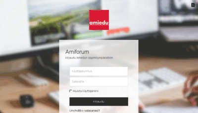 What Amiforum.fi website looked like in 2018 (3 years ago)