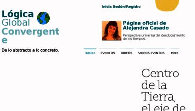 What Alejandracasado.com.ar website looked like in 2018 (2 years ago)