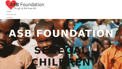 What Asbaction.org website looked like in 2018 (3 years ago)