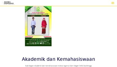 What Akama.iainbukittinggi.ac.id website looked like in 2018 (3 years ago)