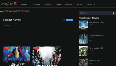 What Actionbd.net website looked like in 2018 (3 years ago)