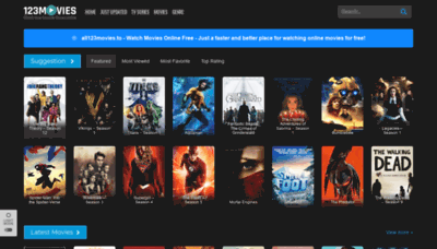What All123movies.to website looked like in 2019 (2 years ago)