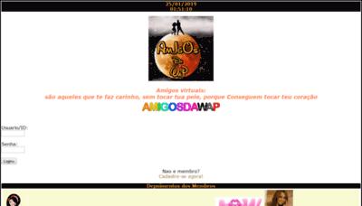 What Amigosdawap.net website looked like in 2019 (2 years ago)