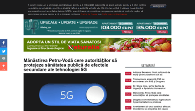 What Activenews.ro website looked like in 2019 (2 years ago)