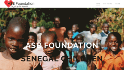 What Asbaction.org website looked like in 2019 (2 years ago)