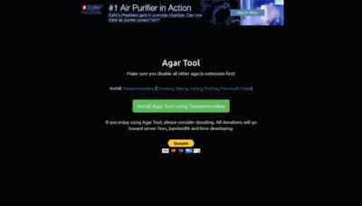 What Agartool.io website looked like in 2019 (2 years ago)