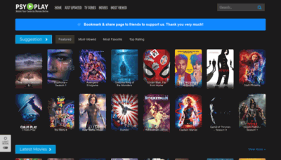 What All123movies.to website looked like in 2019 (1 year ago)