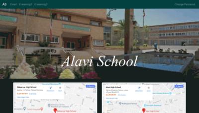 What Alavischool.ir website looked like in 2019 (1 year ago)
