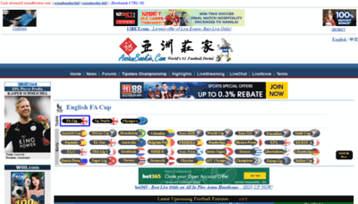 What Asianbookie.org website looked like in 2019 (1 year ago)