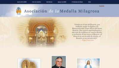 What Ammespanol.org website looked like in 2020 (1 year ago)