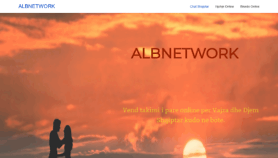 What Albnetwork.net website looked like in 2020 (1 year ago)