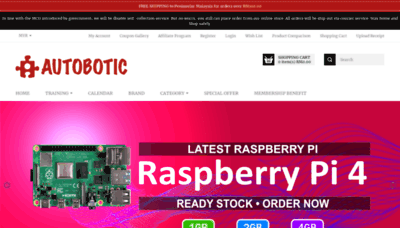 What Autobotic.com.my website looked like in 2020 (1 year ago)