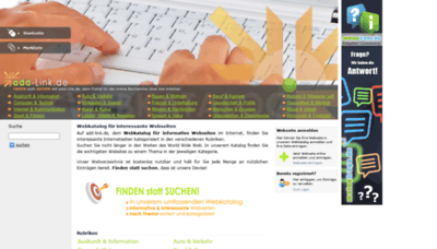 What Add-link.de website looked like in 2020 (This year)