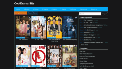 What Asianfans.net website looked like in 2020 (1 year ago)