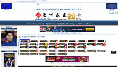 What Asianbookie.org website looked like in 2020 (This year)