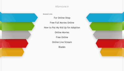 What Allzmovie.in website looked like in 2020 (This year)