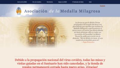 What Ammespanol.org website looks like in 2021