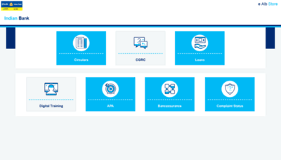 What Allbankcare.in website looks like in 2021