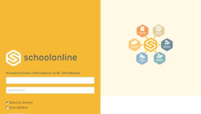 What Broeders.schoolonline.be website looked like in 2016 (5 years ago)