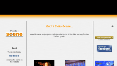 What Bl-scene.eu website looked like in 2017 (4 years ago)