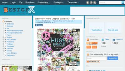 What Bestgfx.me website looked like in 2017 (4 years ago)