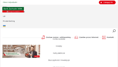 What Bzwbk.pl website looked like in 2018 (3 years ago)