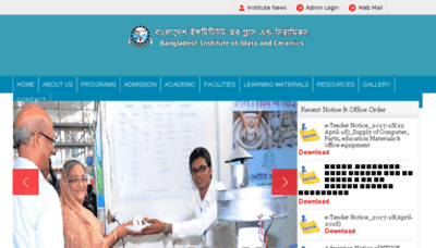 What Bigc.gov.bd website looked like in 2018 (3 years ago)