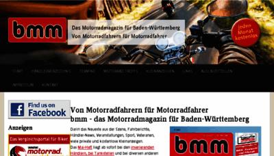 What Bmm-magazin.de website looked like in 2018 (3 years ago)