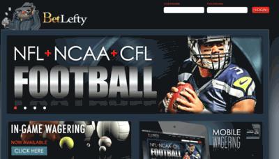 What Betlefty.net website looked like in 2018 (3 years ago)