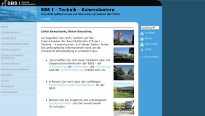 What Bbs1-kl.de website looked like in 2018 (2 years ago)