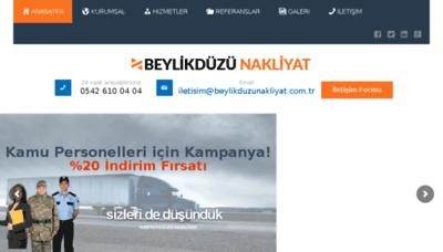 What Beylikduzunakliyat.com.tr website looked like in 2018 (3 years ago)