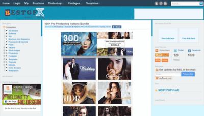 What Bestgfx.me website looked like in 2018 (2 years ago)