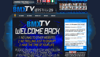 What Bmx-tv.net website looked like in 2018 (2 years ago)