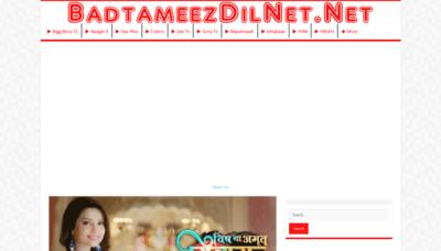 What Badtameez-dil.net website looked like in 2018 (2 years ago)
