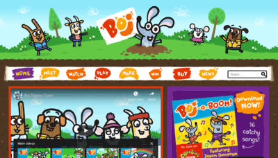 What Boj.tv website looked like in 2019 (2 years ago)