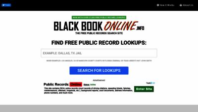 What Blackbookonline.info website looked like in 2019 (2 years ago)