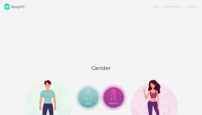What Bodyfitplan.me website looked like in 2019 (2 years ago)