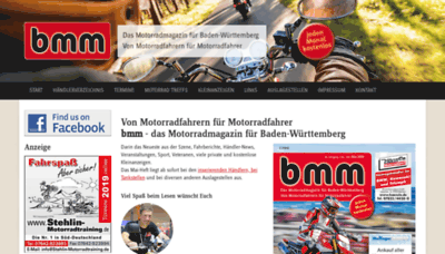 What Bmm-magazin.de website looked like in 2019 (2 years ago)
