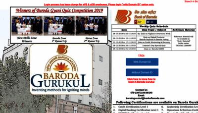 What Barodagurukul.co.in website looked like in 2019 (1 year ago)
