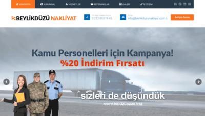 What Beylikduzunakliyat.com.tr website looked like in 2019 (1 year ago)