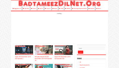 What Badtameez-dil.net website looked like in 2019 (1 year ago)