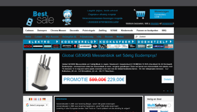What Bestsale-shop.nl website looked like in 2019 (1 year ago)