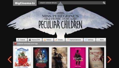 What Bigcinema-films.net website looked like in 2019 (1 year ago)