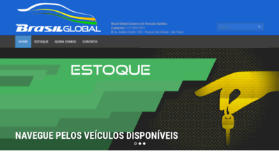 What Brasilcarbatidos.com.br website looked like in 2019 (1 year ago)