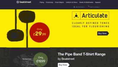 What Beatstreet.co.uk website looked like in 2019 (1 year ago)