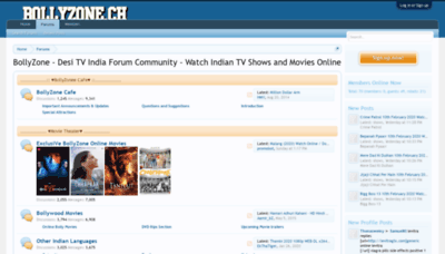 What Bollyzone.me website looked like in 2020 (1 year ago)