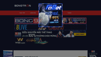 What Bongtron.tv website looked like in 2020 (1 year ago)