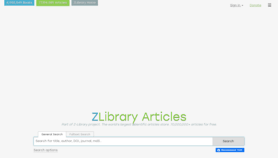 What Booksc.xyz website looked like in 2020 (1 year ago)