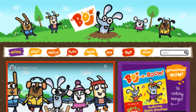 What Boj.tv website looked like in 2020 (1 year ago)